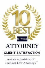 Award for Best Criminal Defense Attorney Pennsylvania Christopher Koschier